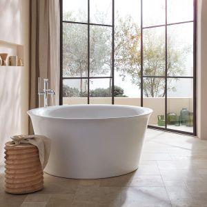 White Tulip to pierwsza kompletna łazienka stworzona w całości przez Philippe Starcka dla marki Duravit. Fot. mat. prasowe Duravit