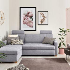 Sofa do małego salonu z kolekcji Karis. Dostępna w ofercie Black Red White. Cena: 2.685,99 zł. Fot. Black Red White