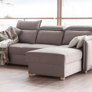 Sofa do małego salonu z kolekcji Fit. Dostępna w ofercie firmy MP Nidzica. Fot. MP Nidzica