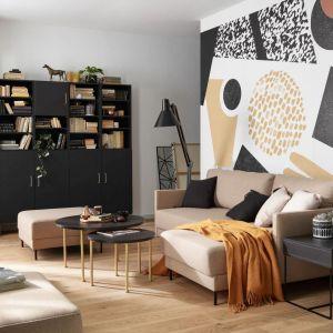 Sofa do małego salonu z kolekcji Estar. Dostępna w ofercie firmy Vox. Fot. Vox