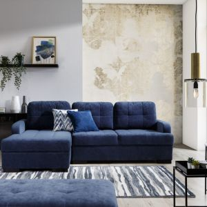 Sofa do małego salonu z kolekcji Catanzaro. Dostępna w ofercie firmy Stagra Meble. Fot. Stagra Meble