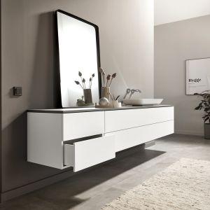 RAUVISIO brilliant noble matt to paleta eleganckich kolorów, które przepięknie dopełniają nowoczesne wnętrze. Fot. REHAU