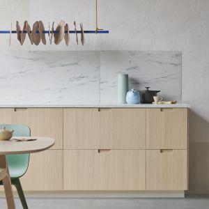 Bambusowe fronty kuchenne Fröjered - projekt Polki, Mai Ganszyniec dla IKEA. Fot. IKEA