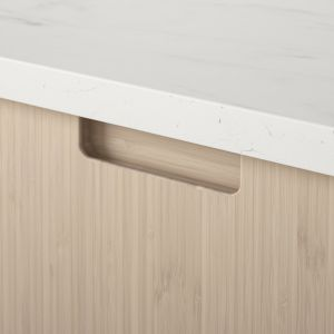 Bambusowe fronty kuchenne Fröjered - projekt Polki, Mai Ganszyniec dla koncernu IKEA. Fot. IKEA