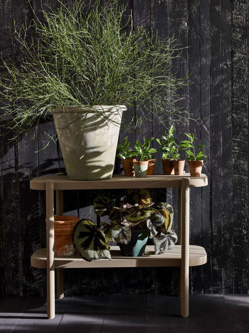 Annie Sloan ogrodzenie meble i donice zabezpieczone Chalk Paint Lacquer