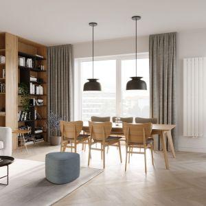 Rozmieszczenie urządzeń grzewczych w domu zależy przede wszystkim od rozkładu mieszkania. Na zdjęciu: grzejnik Niagara. Fot. Luxrad