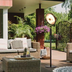 Ogrzewacze ogrodowe służą do ogrzewania przestrzeni na zewnątrz, co jest zbawienne w chwili, gdy chcemy cieszyć się wiosenną aurą jeszcze dłużej. Fot. Activejet