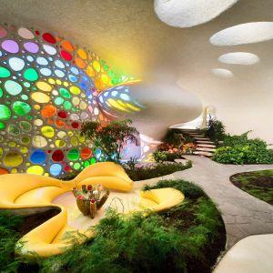 Nautilus House, Meksyk. Projekt i fot. Arquitectura Orgánica