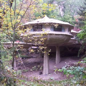 Mushroom House/Stany Zjednoczone. Fot. Wikimedia Commons/By DanielPenfield - Own work, CC BY-SA 3.0,