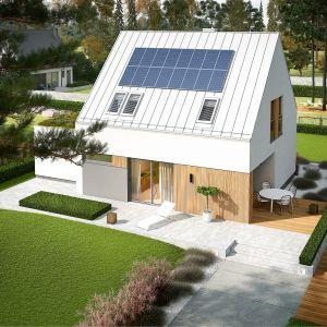 Mini 5 G1 PLUS to dom oszczędny od podstaw. Projekt: pracownia Archipelag