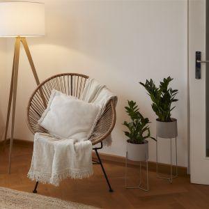 Fotel wypoczynkowy ze splotu z tworzywa sztucznego Bahia. W połączeniu z poduszkami lub futrami fotel jest wyjątkowo wygodny. Cena: 419,90 zł, WestwingNow