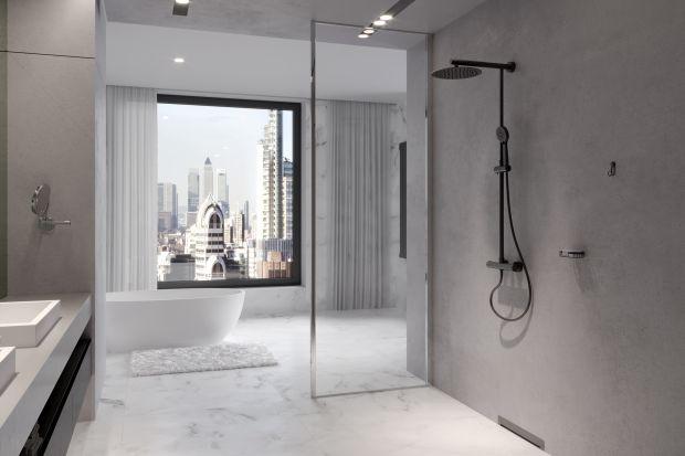 Podobają ci się czarne baterie w łazience? Zobacz ciekawymodel nowoczesnej czarnej deszczowni, która idealnie sprawdzi się w nowoczesnej aranżacji.