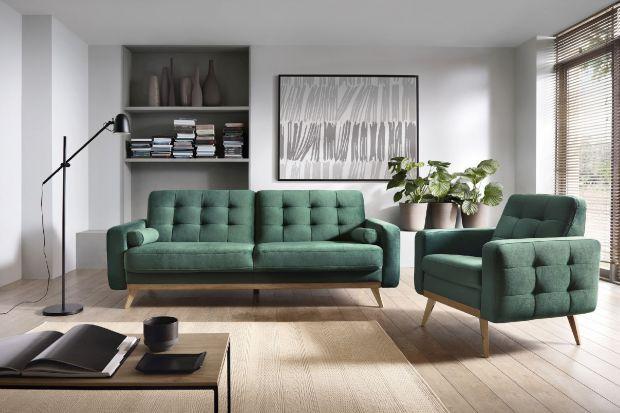 W małym salonie, czy pokoju nastolatka najlepiej sprawdzą się wielofunkcyjne sofy o niedużych gabarytach.