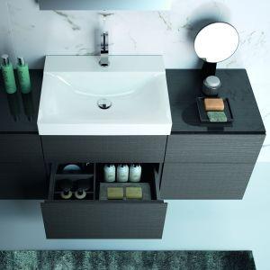 Kompaktowa umywalka z kolekcji Geberit Xeno². Fot. Geberit