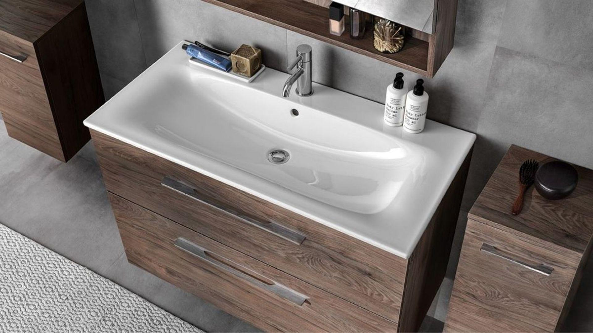 Umywalka meblowa Koło Nova Pro Premium jest dobrym wyborem dla osób, które preferują wnętrza bazujące na klasycznym i nowoczesnym wzornictwie. Fot. Geberit