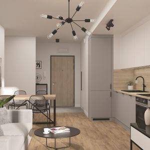 Sitta by Skanska styl modern kuchnia i salon