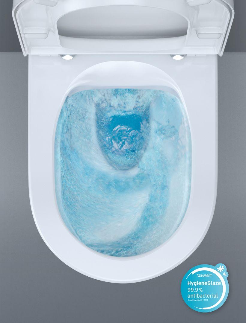 Toaleta z funkcją HygieneFlush. Fot. Duravit