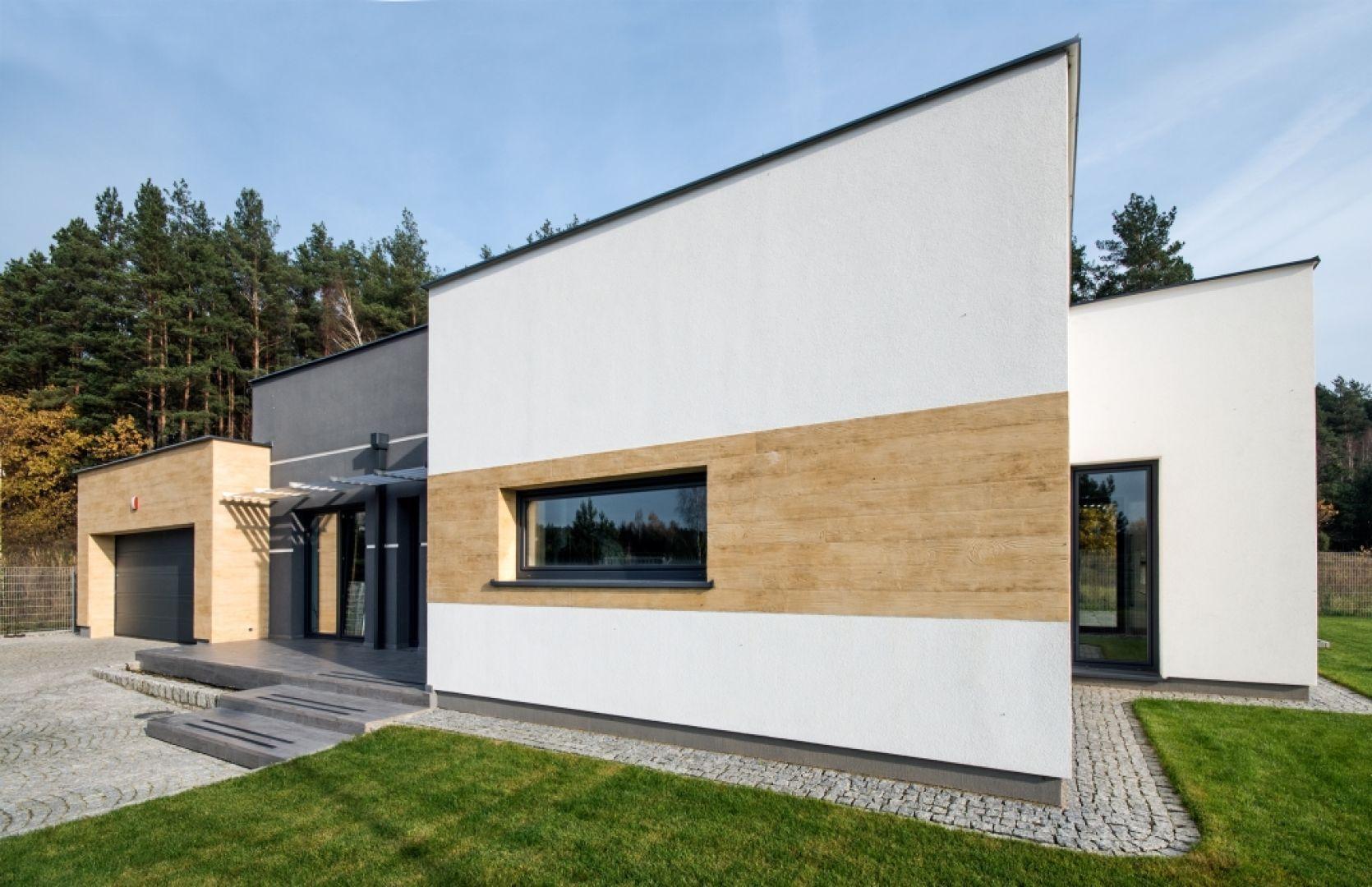 Elewacja odgrywa kluczową rolę w łączeniu zewnętrznych części budynku z jego wnętrzem. Fot. Baumit