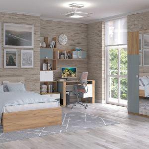 Sofa lub praktyczny narożnik z funkcją spania sprawdzą się w niedużych pomieszczeniach. Na zdjęciu: meble z kolekcji Modex. Fot. Salony Agata