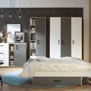 W pokoju ucznia powinno znaleźć się również odpowiednie miejsce na wypoczynek i relaks. Na zdjęciu meble z kolekcji Fini. Fot. Salony Agata