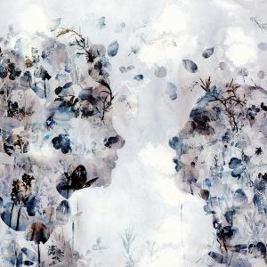 Tapeta All is Full of Love. Autorka wzoru to Kinga Budgol z ASP w Katowicach. Cena: 161,10/m2. Marka: Walltime