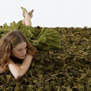 Little Field of Flowers - projekt dywanu dla słynnej marki Nanimarquina. Fot. Nanimarquina