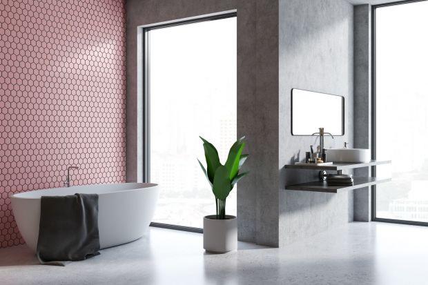 Różowa mozaika to rozwiązaniedlazwolenników niebanalnych rozwiązań, którzy wswojej łazience i kuchnichcą stworzyć ciekawą aranżację.Umiejętnie wykorzystany sprawi, że wnętrze będzieciepłe i stylowe.<br /><br />