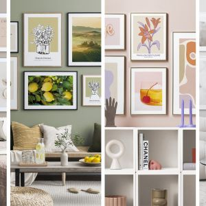 Desenio ułatwia odświeżenie Twojego domu na nowy sezon w prosty sposób: poprzez zmianę plakatów artystycznych.