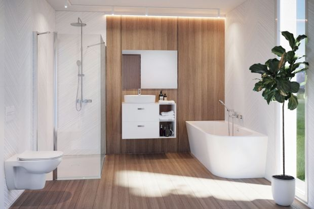 Dla tych, którzy lubią estetyczne i praktyczne rozwiązanie porządkujące przestrzeń Roca przygotowała propozycję mebli modułowych Victoria Basic Modular.