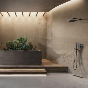 Tapeta do łazienki z kolekcji AROMAS marki Glamora. Fot. Dekorian Home