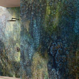 Tapeta do łazienki z kolekcji ANACAPRI marki Glamora. Fot. Dekorian Home