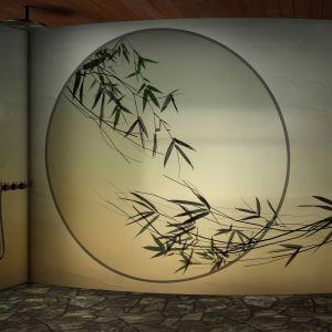 Tapeta do łazienki z kolekcji ALBA marki Glamora. Fot. Dekorian Home