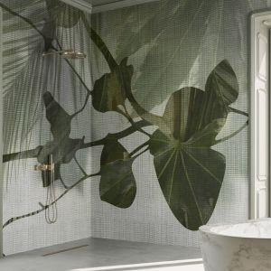 Tapeta do łazienki z kolekcji QUISISANA marki Glamora. Fot. Dekorian Home