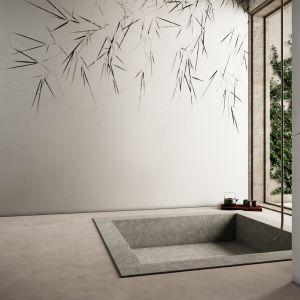 Tapeta do łazienki z kolekcji SPIKE marki Glamora. Fot. Dekorian Home