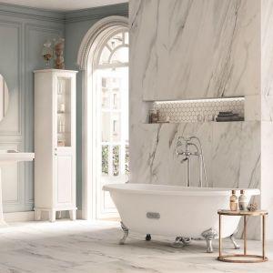 Kolekcja Carmen - pomysł na klasyczną, ponadczasową łazienkę. Fot. Roca