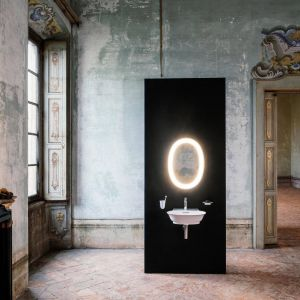 The New Classic - kolekcja, którą dla marki Laufen zaprojektował Marcel Wanders. Fot. Laufen