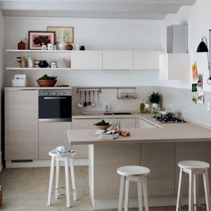 Kuchnia Urban marki Scavolini, dedykowana małym kuchniom, np. w bloku. Fot. Scavolini
