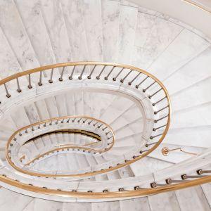 Mamur w roli okładziny schodów. Fot. Interstone
