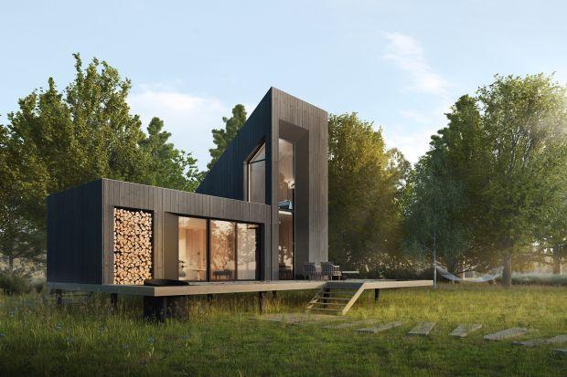 66-metrowy dom letniskowy projektu architektów z Yono Architecture to współczesna interpretacja wiejskiej enklawy, idealnej nie tylko na wakacje. Zobaczcie ten piękny projekt!