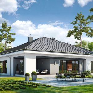Warstwę wyciszającą należy zaplanować na etapie projektu domu. Projekt: Dom dostępny D45. Fot. Styropmin