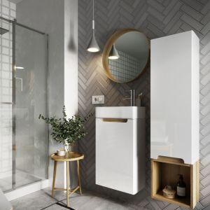 Kolekcja Stilla idealnie dopasowuje się nie tylko kształtem, ale także designem, do naszych łazienek, dając przy tym pełną swobodę aranżacyjną. Fot. NAS