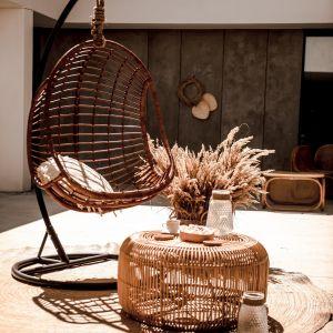 Monnarita fotel Hugo, stolik Fito