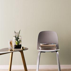 Finezyjną koncepcję wnętrza można wykreować z pomocą nietuzinkowego koloru o nieco ciemniejszej tonacji i dźwięcznej nazwie Echo. Fot. Beckers Designer Collection