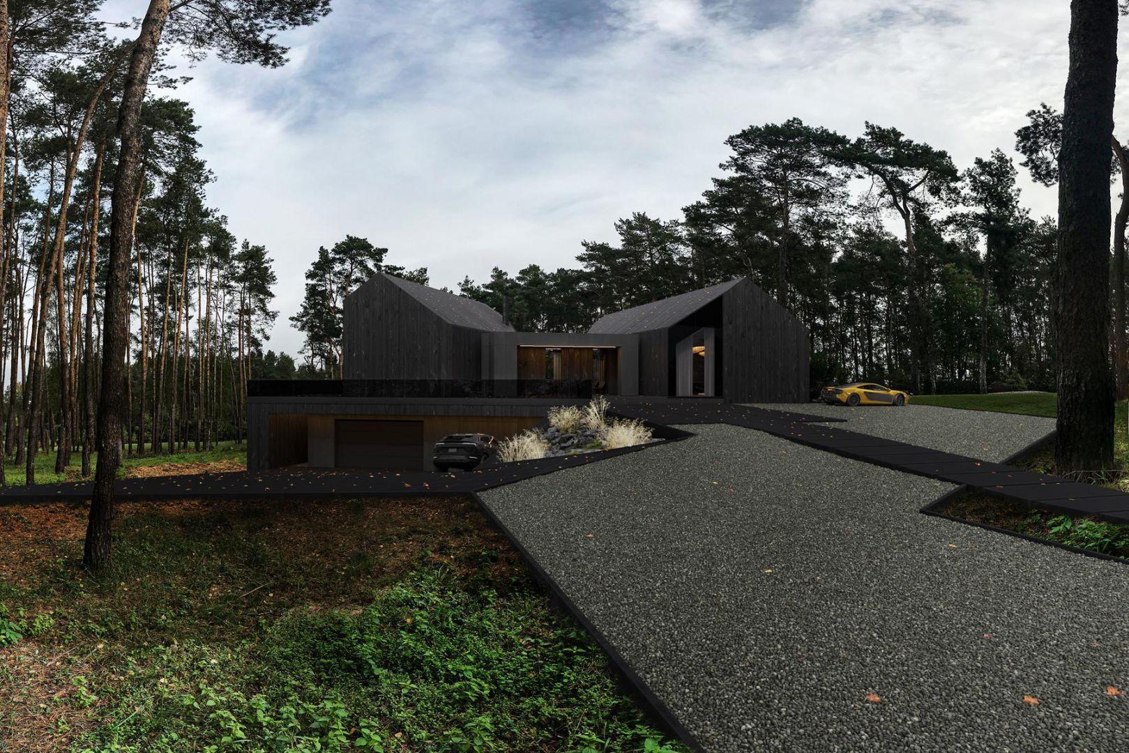 Projekt domu RE: REDWOOD HOUSE. Autor: Marcin Tomaszewski, pracowni Reform. Fot. mat. prasowe Reform