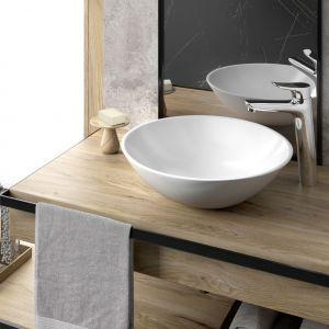 Modna łazienka. Baterie do łazienki z kolekcji Brezza. Fot. Fdesign