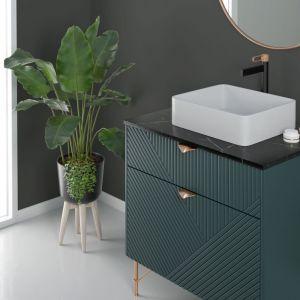 Modna łazienka. Baterie do łazienki z kolekcji Zaffiro. Fot. Fdesign