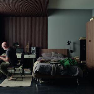 Panele Linerio sprawdzą się w intensywnie użytkowanych pomieszczeniach. Na zdjęciu: panele Linerio S-Line Mocca Vox