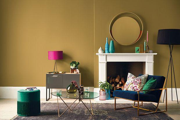 Modne kolory ścian 2021: zobacz nowe pomysły na ścianę w salonie!