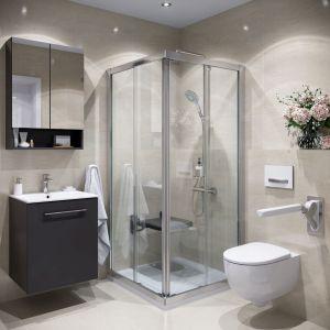 Łazienka dla niepełnosprawnych to przede wszystkim łazienka bez barier. Fot. Koło