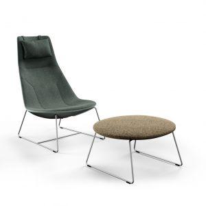 Fotel Chic Lounge - projekt światowej sławy designera Christophe Pillet dla marki Profim. Fot. Profim